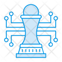 Planning Strategy Chess Icon