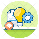 Planning Process Creative File Project Planning Icon