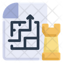 Planning Strategy Icon