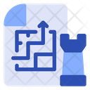 Planning Strategy Strategy Planning Icon