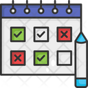 Planning Task Schedule Task Planning Icon