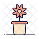 Plant Flower Pot Flower Icon