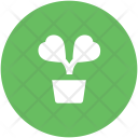 Plant Heart Flowers Icon