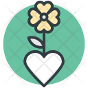 Plant Clover Flower Icon