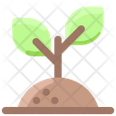 Spring Plant Green Icon