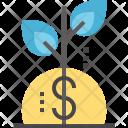 Plant Money Growth Icon