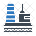 Plant Refinery Industrial Icon