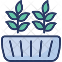 Plant Pot Flower Icon