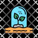 Plant Care Greenhouse Icon