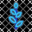 Plant Leaf Illustration Icon