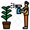 Plant Growth Hand Icon
