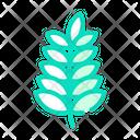 Plant Branch Color Icon