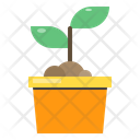 Sprout Agriculture Farming Icon