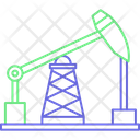 Plant Oil Pumpjack Icon