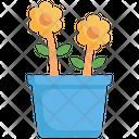 Plant Pot Flower Icon