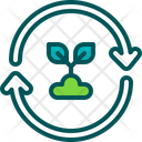 Plant Recycle Reusable Icon
