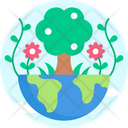 Plant Earth Global Icon