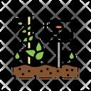 Plant Nameplate Gardening Icon