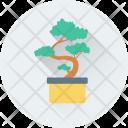 Plant Flowering Pot Icon