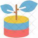 Plant Botany Experiment Icon