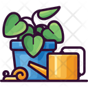 Plant Watering Snail Icon