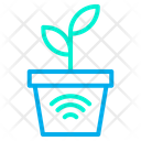 Smart Plant Automation Internet Of Things Icon