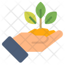 Care Ecology Plant Icon Icon
