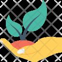 Plant Care Hand Icon