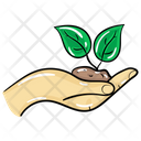 Sapling Plant Conservation Plant Protection Icon