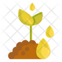 Water Water Drop Plant Icon