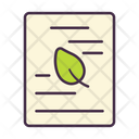 Ecology Plant Leaf Icon