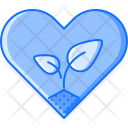 Heart Love Sprout Icon