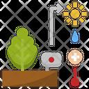 Plant Monitoring Icon