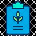 Plant Note Icon