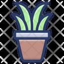 Plant Pot Seeding Plant Icon