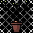 Data Green Growth Icon