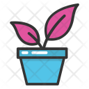 Plant Pot Greenery Icon