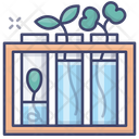 Flasks Natural Science Icon