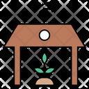 Plant Smartfarm Signal Icon