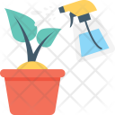 Plant Watering Care Icon