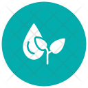 Drop Gardening Leaves Icon