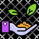 Plantation Sapling Plant Conservation Icon
