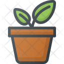 Planting Eco Distance Icon