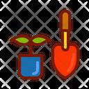 Planting Seeding Plant Icon