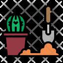 Planting Farming Gardening Icon