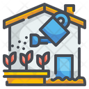 Planting Watering Can Plant Icon