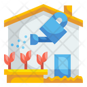 Planting Plant Water Icon