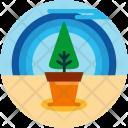 Planting Plant Tree Icon
