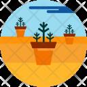 Planting Pot Greenery Icon