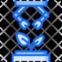 Planting Robot Plant Icon